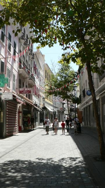 Wąskie uliczki dominowały w mieście